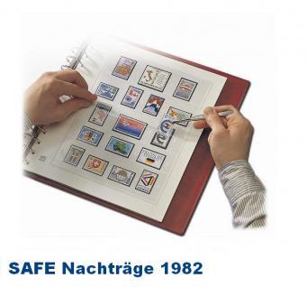 SAFE 1782 dual Nachträge - Nachtrag / Vordrucke Berlin Jahresschmuckblätter - 1982