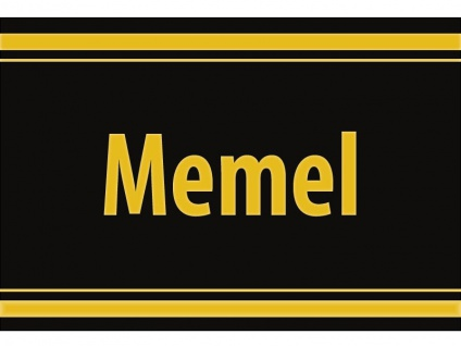 "1 x SAFE 1130 SIGNETTE Aufkleber selbstklebend "" Memel "" Memelland"