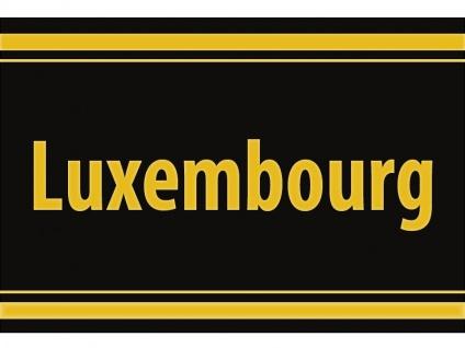 """1 x SAFE 1130 SIGNETTE Aufkleber selbstklebend """" Luxembourg """" Luxemburg - Letzteburg"""