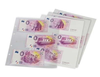 """SAFE 3101 """" 0 """" Euro Souvenir Vordruckalbum Banknotenalbum + 30 Vordruckseiten + Hüllen für alle deutschen Scheine 2015 / 2017 - Vorschau 2"""