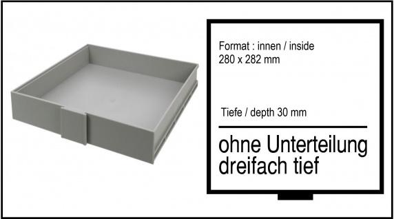SAFE 6190 3-fach Hoch 30 mm BEBA SCHUBLADEN Schuber 1 FACH ohne Einteilung für Maxi Münzkasten