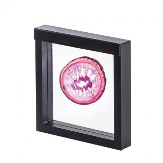 LINDNER 4838 NIMBUS 150 Schwarz Sammelrahmen Schweberahmen 3D 150x150x25 mm Für Mineralien Fossilien