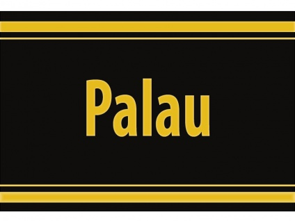 "1 x SAFE 1130 SIGNETTE Aufkleber selbstklebend "" Palau "" Inseln"