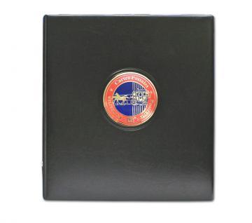 """SAFE 7335 PREMIUM Postkartenalbum """" Premium """" mit 20 Hüllen für 80 Ansichtskarten Postkarten Briefe FDC - Vorschau 2"""
