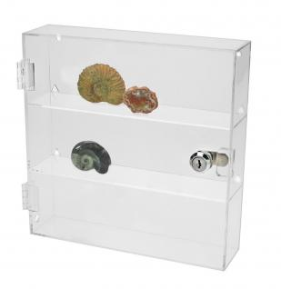 SAFE 5249 Acrylglas Design Uhrenvitrine Medium 240 x 240 x 60 mm abschließbar Für ca. 12 Taschenuhren - Vorschau 4