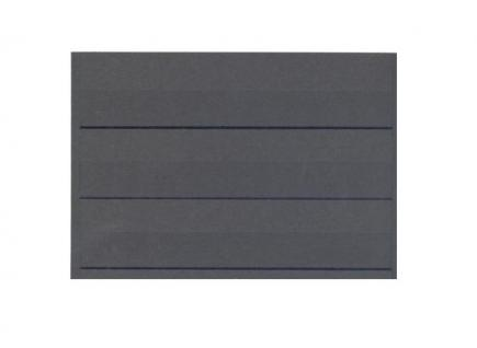 100 x HAWID HA 503000 DIN A5 Schwarze Einsteckkarten Steckkarten Klemmkarten 210 x 148 mm 3 Streifen - Vorschau 1