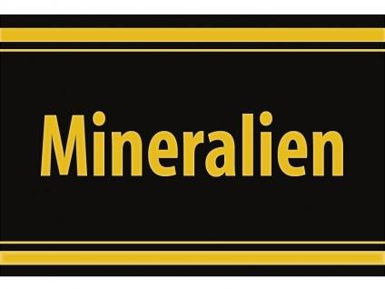 "1 x SAFE 1130 SIGNETTE Aufkleber selbstklebend "" Mineralien """