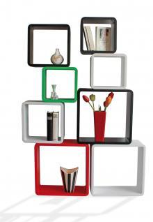 """SAFE 5326 Set Design Deko Präsentationsrahmen Würfel Cube Vintage Regal """" Quadro Weiss """" S M L XL - L 26 - 31 - 36 - 41 cm x B 26 - 31 - 36 - 41 cm x T 19, 5 cm - Vorschau 5"""