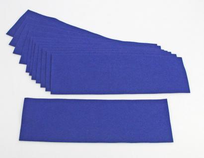 2 x SAFE 5237 Echtfilz Auflagen Dunkelblau Blau auf Zwischenböden - Für Vitrinen 5212