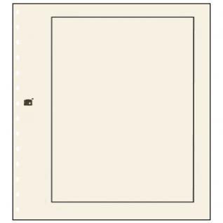 10 x SAFE 780 Karton Blankoblätter Hellchamois Rand schwarz