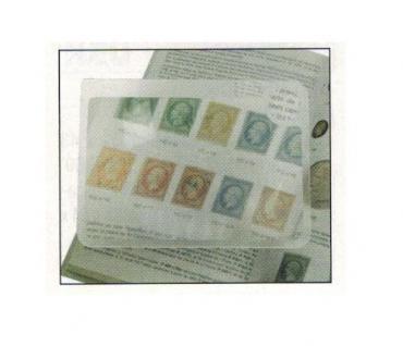 SAFE 4611 Große Flachlupe Lupe im Postkartenformat 150x100 mm + Schutzschuber