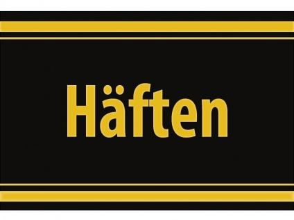 """1 x SAFE 1130 SIGNETTE Aufkleber selbstklebend """" Häften """" (schwedisch) Mappen Broschüren"""