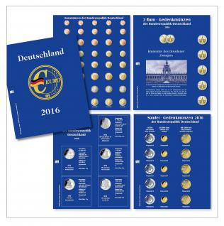 SAFE 5417 Nachtrag PREMIUM DEUTSCHLAND EURO 4 Münzblätter + Vordrucke 2016