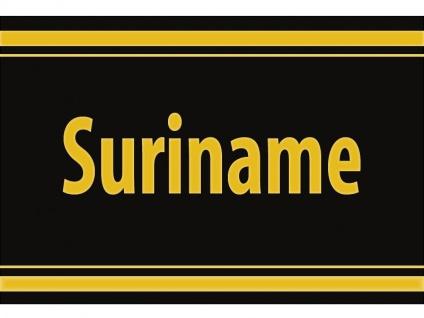 "1 x SAFE 1130 SIGNETTE Aufkleber selbstklebend "" Suriname "" Surinam"