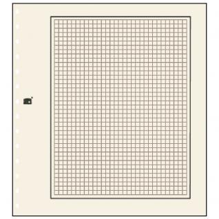 10 x SAFE 781 Karton Blankoblätter Hellchamois Mit schwarzem Rand und zartgrauem Netzdruck