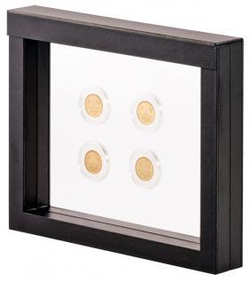 LINDNER 4831 NIMBUS 230 Sammelrahmen Schweberahmen 3D Für Münzen & US Slab Münzkapseln