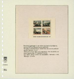 1 x LINDNER 802105 T-Blanko-Blätter Blankoblatt 18-Ring Lochung - 1 Tasche 120 x 189 mm - Vorschau 2