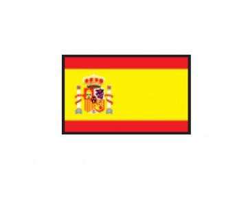 1 x SAFE 1175 SIGNETTE Flagge Spanien - Spain - Espana Aufkleber Kennzeichnungshilfe - selbstklebend