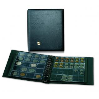 SAFE 864 COIN Combi Münzalbum Ringbinder Album MIXED mit 4 Ergänzungsblättern für 110 Münzen
