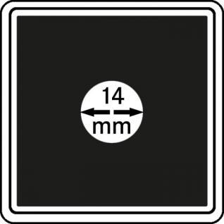 4 x LINDNER 2240014 Münzkapseln / Münzenkapseln CARREE 14 mm - Ideal für 1/20 OZ Liebertad & Nugget - Vorschau 1