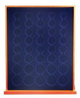 SAFE 6840 XXL Nova Exquisite Holz Münzboxen Schubladenelement mit 2 Tableaus 6340 Für 10 x EURO Kursmünzensätze KMS 1 2 5 10 20 50 Cent - 1 2 € - Vorschau 2