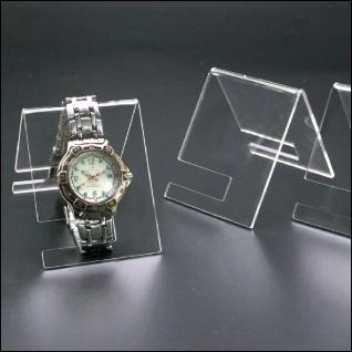 3 x SAFE 5278 ACRYL Deko Aufsteller Uhrenhalter H 90 x L 70 x T 65 mm für Uhren Damen Herren Kinder Armbanduhren Vitrinen - Vorschau 4