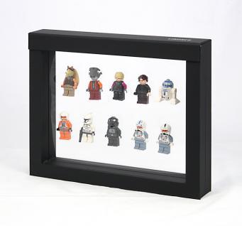 LINDNER 4831 NIMBUS 230 Sammelrahmen Schweberahmen 3D Für Lego Mni Figuren Star Wars usw.