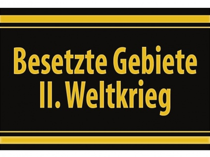 """1 x SAFE 1130 SIGNETTE Aufkleber selbstklebend """" Besetzte Gebiete II. Weltkrieg """" - Vorschau 1"""