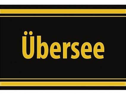 "1 x SAFE 1130 SIGNETTE Aufkleber selbstklebend "" Übersee """