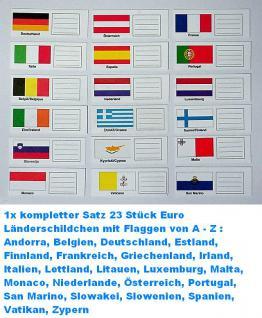 KOBRA FE-SO Rot - Weinrot Euro-Münzalbum Album Ringbinder + 5 Münzhüllen Münzblätter FE24 + farbige Vordrucke + 23 Länderschildchen für 15 komplette EURO KMS Kursmünzensätze von Andorra - Zypern - Vorschau 5