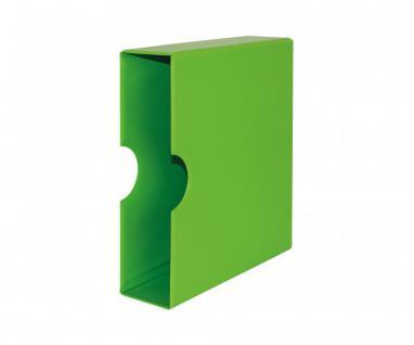 LINDNER S3541-4 Spring - Grüne Schutzkassette Kassette Für S3540-4 Ringbinder Album PUBLICA M COLOR