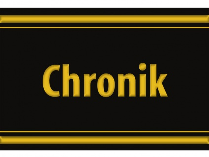 "1 x SAFE 1130 SIGNETTE Aufkleber selbstklebend "" Chronik """