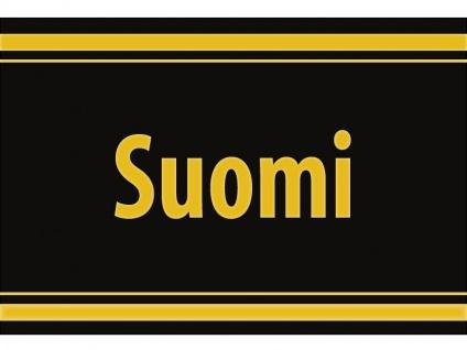 """1 x SAFE 1130 SIGNETTE Aufkleber selbstklebend """" Suomi """" Finnland"""