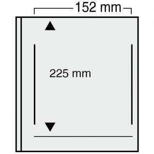 10 x SAFE 863 Ergänzungsblätter Variant + grünen ZWL mit 1 Tasche 152 x 225 mm A5 ETB