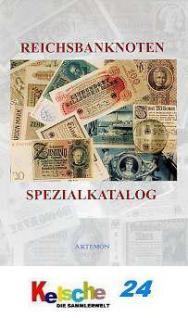 Arnold Tronjeck Reichsbanknoten Spezialkatalog NEU - Vorschau