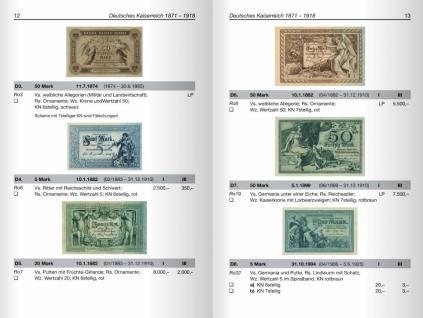 Battenberg Kleiner Deutscher Papiergeldkatalog von 1871 - 2011 + Österreich / Liechtenstein - 1. Auflage - Hans L. Grabowski - PORTOFREI in Deutschland - Vorschau 4