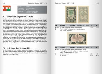 Battenberg Kleiner Deutscher Papiergeldkatalog von 1871 - 2011 + Österreich / Liechtenstein - 1. Auflage - Hans L. Grabowski - PORTOFREI in Deutschland - Vorschau 5