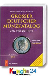 BATTENBERG GROßER DEUTSCHER MÜNZKATALOG AKS 1800 - - Vorschau
