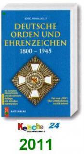 Nimmergut Katalog Orden Ehrenzeichen 1800-1945 2011 - Vorschau