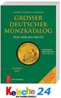 Battenberg AKS Großer Deutscher Münzkatalog 2009 - Vorschau