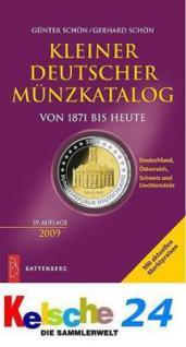 Battenberg Kleiner Deutscher Münzkatalog 2009 NEU