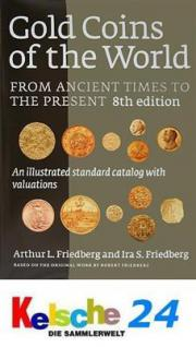 Friedberg Gold Coins of the World 8.Auflage 2009 NEU