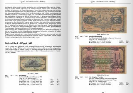 Gietl - Battenberg Ausländische Geldscheine unter deutscher Besatzung im Ersten und Zweiten Weltkrieg Papiergeldkatalog in Farbe - PORTOFREI in Deutschland - Vorschau 3