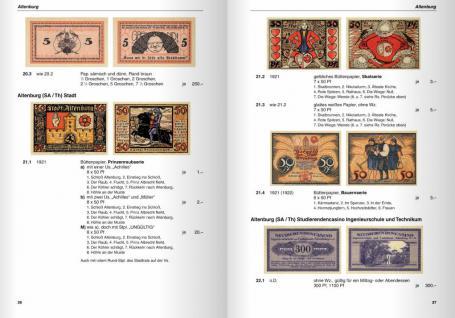 Gietl Deutsche Serienscheine 1918-1922 Deutsches Notgeld Band 1-2 Grabowski / Mehl 3. Auflage - 2009 in Farbe PORTOFREI in Deutschland - Vorschau 5