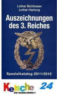 BICHLMAIER Hartung Auszeichnungen d. 3. Reiches 201