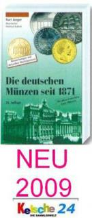 Gietl Die deutschen Münzen seit 1871 Der Jaeger Münzkatalog 21. Auflage 2009 - Vorschau