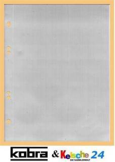 100 x KOBRA G17E Ergänzungsblätter Ersatztaschen A5 150 x 216 mm Für ETB 's Briefe Banknoten - Vorschau 1