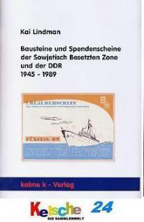 Lindman Bausteine u Spendenscheine SBZ DDR 1945-89 - Vorschau