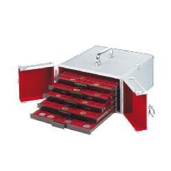LEUCHTTURM 310776 Münzboxen Münzbox Koffer Cargo MB 5 ( leer ) - Vorschau