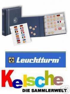 LEUCHTTURM EURO-Münzalbum Numis komplett +6 Hüllen - Vorschau